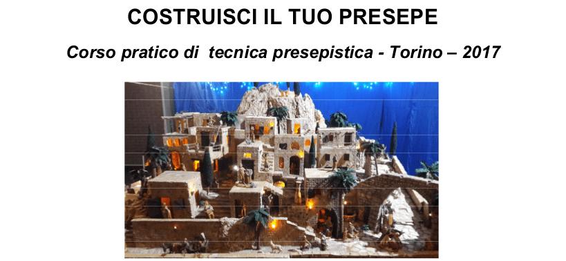 CORSO PRATICO DI TECNICA PRESEPISTICA  TORINO – 2017