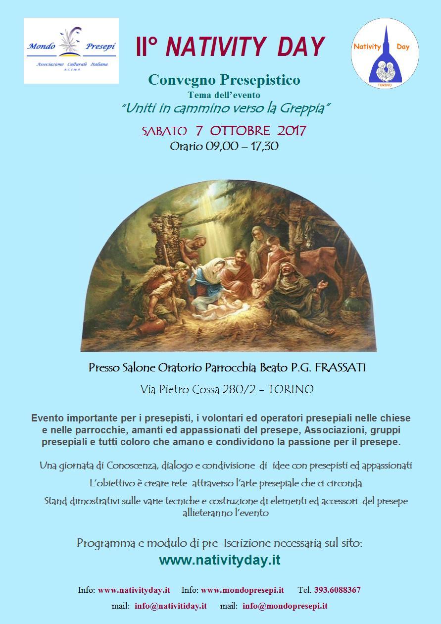 Nativity Day - Torino 7 Ottobre 2017