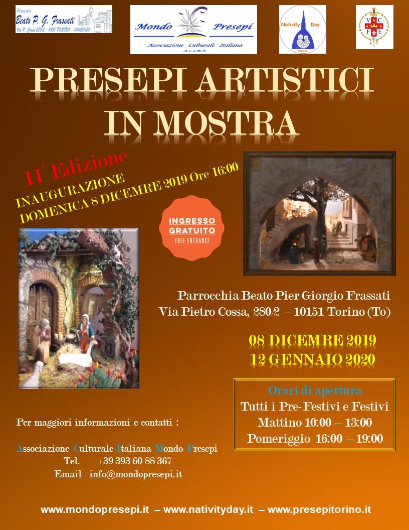 Presepi Artistici in Mostra 08 Dicembre 2018 - 12 Gennaio 2019