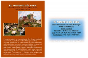 presepe forno canavese